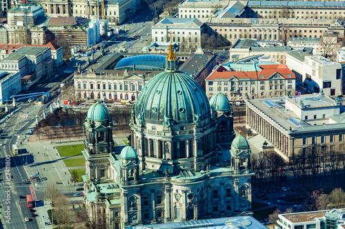 Papiers peints Berlin Aerial view of Berlin, Germany