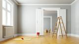 Renovierung einer Wohnung beim Umzug - 182414297
