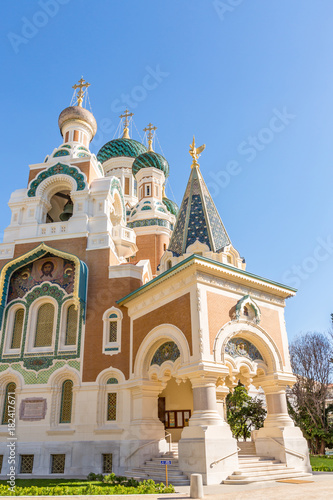 Foto op Aluminium Nice Orthodoxy church Nice France