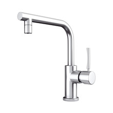 Modern Stainless Steel Kitchen Water Tap Faucet 3d Rendering Sticker
