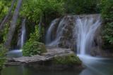 beautifull lush waterfall nature river water tropical natural