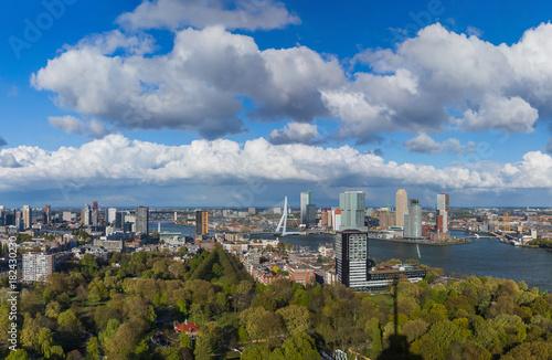 Fotobehang Rotterdam Rotterdam cityscape - Netherlands