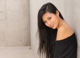 Beautiful smiling young Asian woman - 182439090