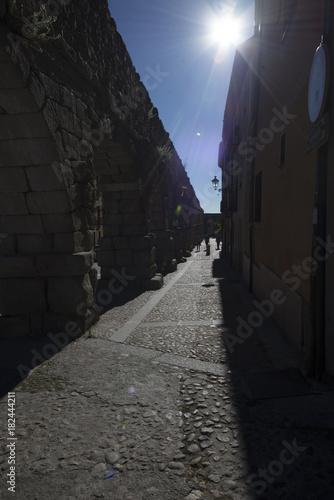 Plexiglas Smalle straatjes Images taken around Central Spain
