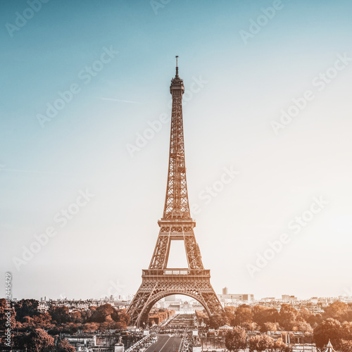 Plagát Tour Eiffel (Eiffel Tower) in Paris, France