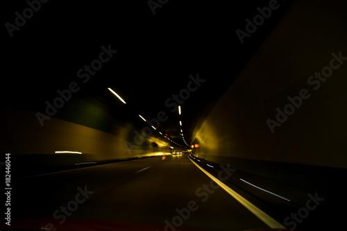 Foto op Aluminium Nacht snelweg Drunk
