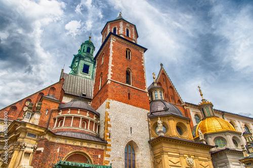 Foto op Canvas Krakau Wawel cathedral in krakow, poland