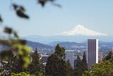 Portland, Oregon with Mount Hood