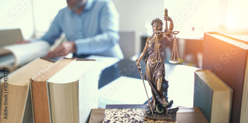 Lady Justice Statue - 182458277