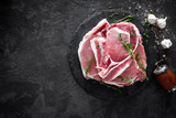 Raw meat, pork steaks - 182462265