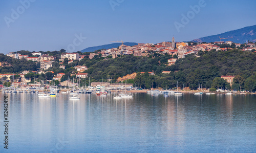Porto-Vecchio town, coastal cityscape