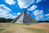 Temple of Kukulkan, pyramid in Chichen Itza, - 182468640