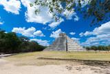 Temple of Kukulkan, pyramid in Chichen Itza, - 182468667
