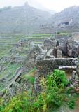 Machu Picchu, a UNESCO World Heritage Site - 182469435