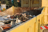 old building materials and mortars and waste from construction s - 182469820