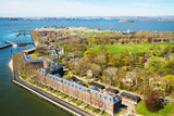 Governors Island in Upper New York Bay NYC - 182478458