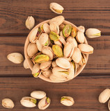 pistachios on the table - 182482292