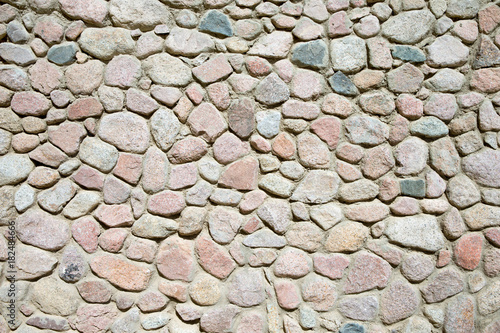 Poster Stenen stone wall background