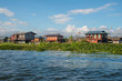 The Intha floating village in Inle lake, Myanmar.