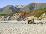 idyllic coastal scenery in California - 182513883