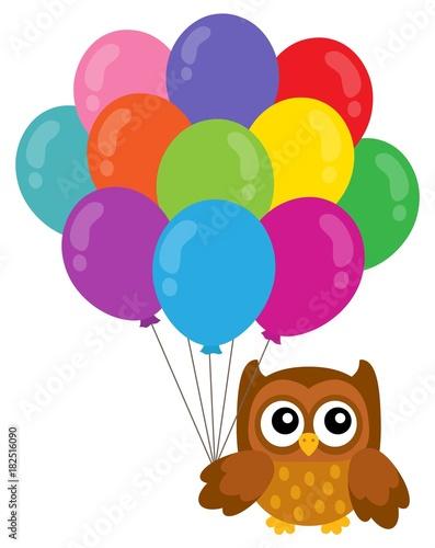 Papiers peints Enfants Party owl topic image 3