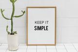 Keep it simple - 182517019