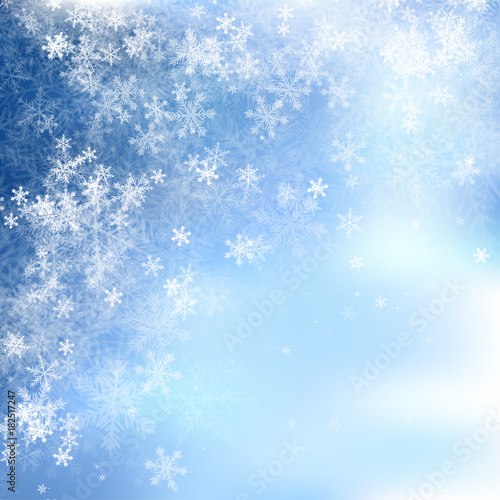 Winter Background - 182517247