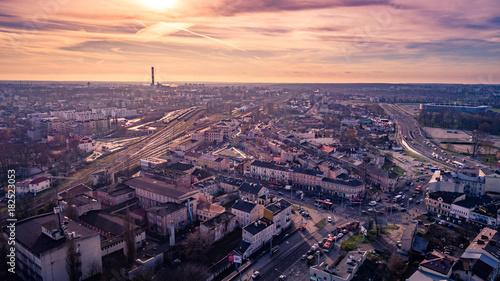 Miasto Lublin z lotu ptaka
