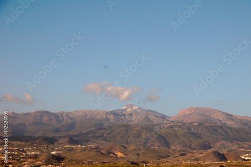 Staande foto Canarische Eilanden Desert Landscape in Volcan Teide National Park