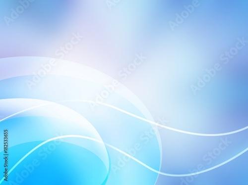 Plexiglas Abstractie abstrakcyjne, niebieskie tło