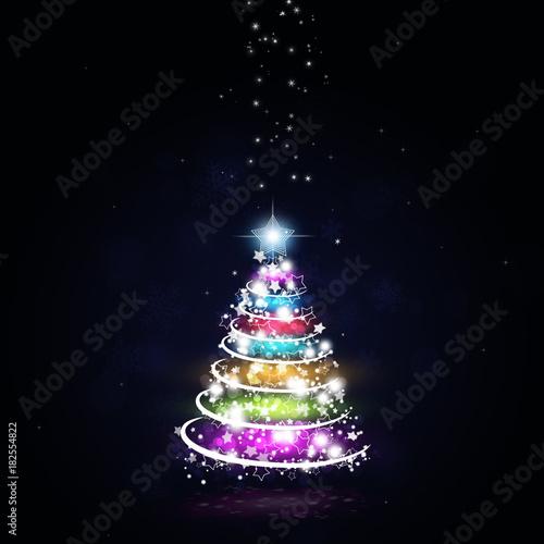 Christmas Multicolor Tree
