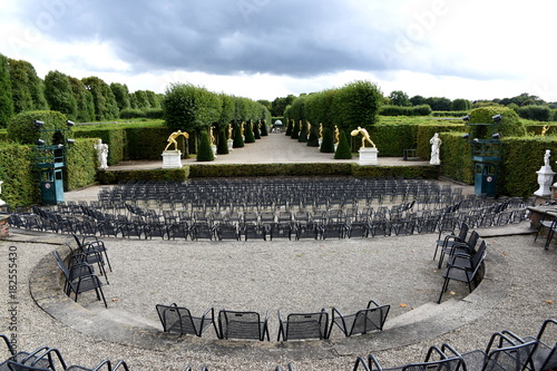 Foto op Canvas Grijs Hannover, Schloss Herrenhausen