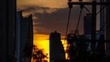 City sunset - 182564627