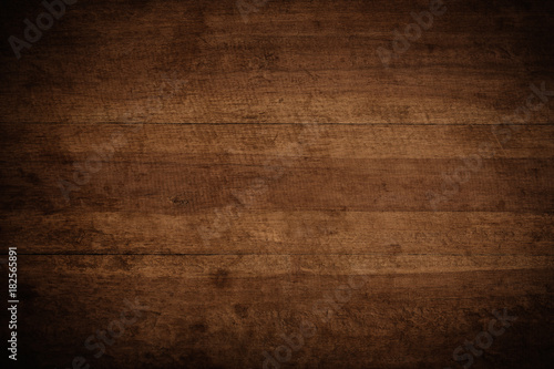 Old grunge dark textured wooden background,The surface of the old brown wood texture - 182565891