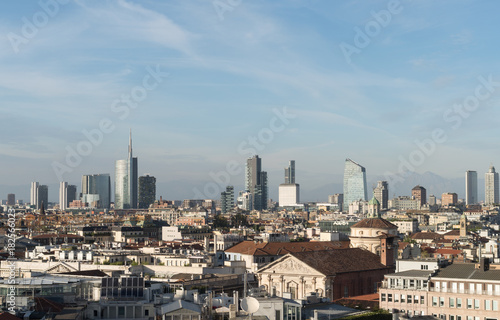 Foto op Canvas Milan Milan cityscape, Lombardy, Italy