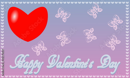 Greeting Card for St. Valentine's Day