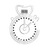 Sport chronometer isolated icon vector illustration graphic design