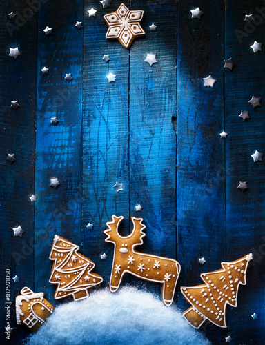 Święta Bożego Narodzenia ozdoba płasko świeckich; Tło kartki świąteczne