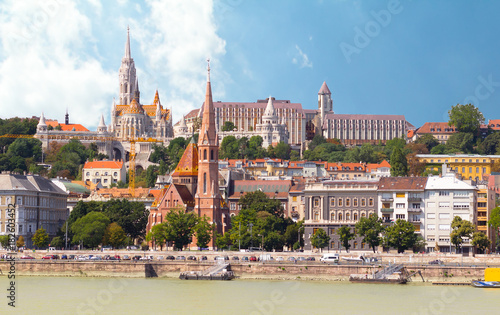Foto op Canvas Boedapest fishermans bastion and castle Budapest