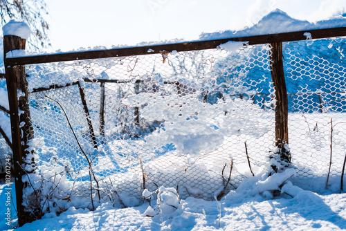 Fotobehang Natuur Fresh snow