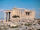 The Erechtheum with Caryatids in Acropolis - 182633858