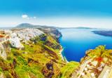 Greece, beautiful landscape of Santorini island. - 182669880