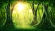 Dark magic forest - 182679601