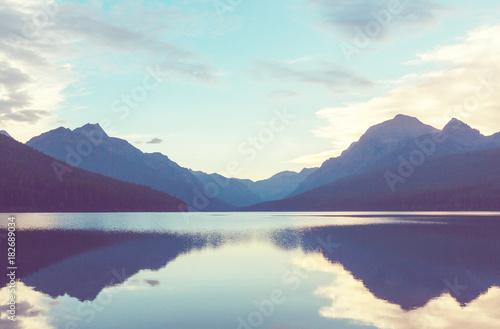 Fotobehang Galyna A. Bowman lake