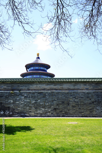 Foto op Canvas Peking The temple of heaven in Beijing, China