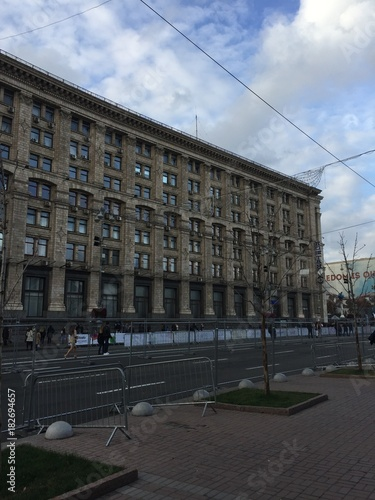 Tuinposter Kiev Kiev Maidan Nezalezhnosti