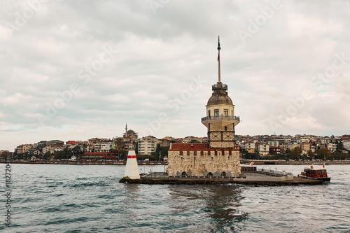 Maiden's Tower, Kiz Kulesi in istanbul,Turkey