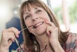 Portrait of smiling mature woman - 182731240