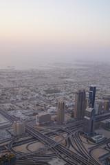 The highest building. Dubai.