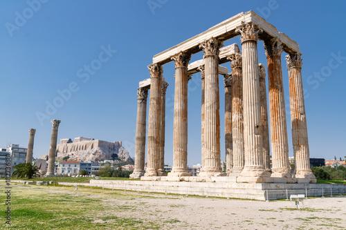 Keuken foto achterwand Athene Olympieion in Athen